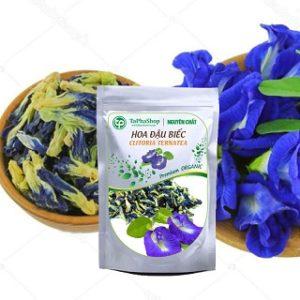 trà hoa đậ biếc khô có nhiều công dụng tốt cho sức khỏe