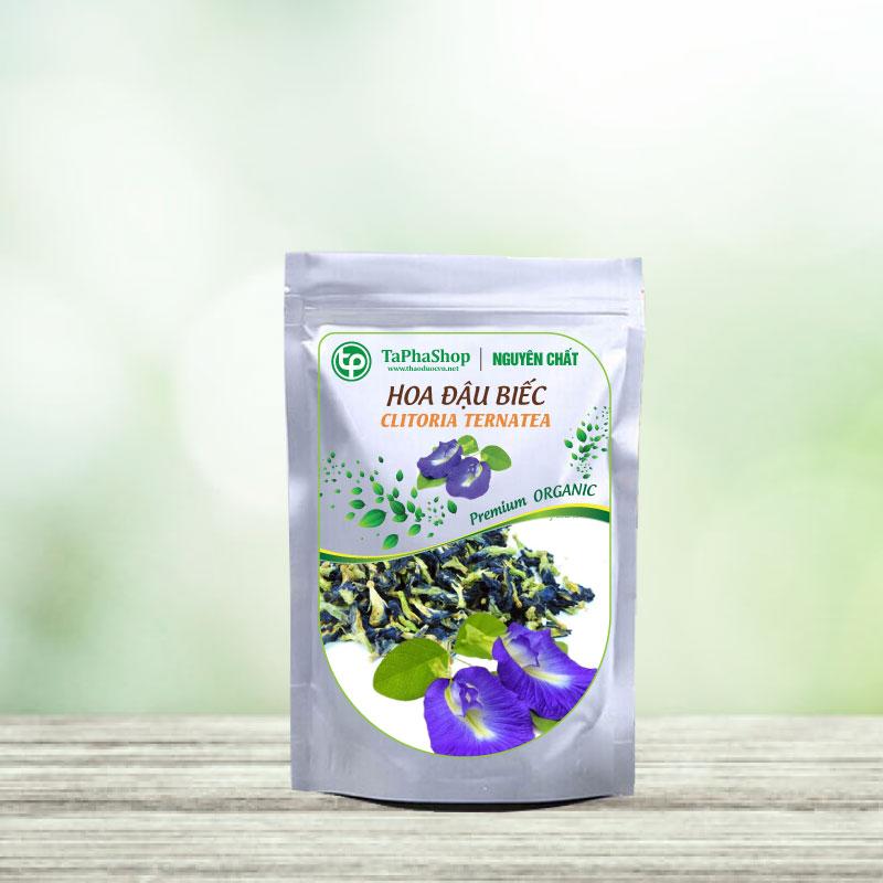 hoa đậu biếc sấy khô ở tphcm