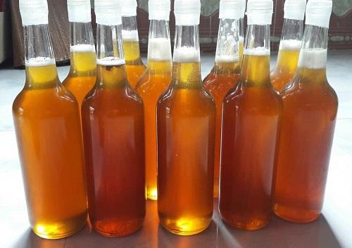 mật ong rừng đóng chai